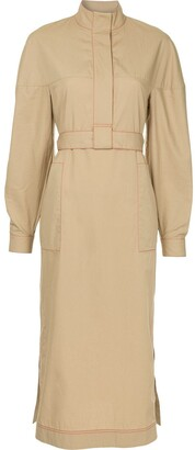 Rosetta Getty concealed front dress