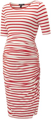 Isabella Oliver Nia Ruched Maternity Dress