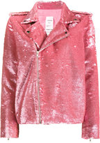 Ashish Nasty Woman Sequin Biker Jacket