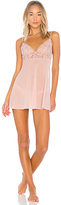 Hanky Panky Sophia Babydoll With G String in Pink. - size L (also in M,S)
