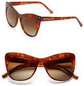 Andrew Marc 53mm Cat Eye Sunglasses