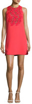 Giambattista Valli Macrame-Trim Cocktail Dress, Red