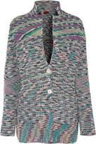 Missoni Chunky-Knit Cashmere Cardigan