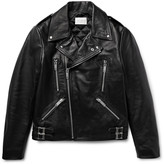 Sandro - Padded Leather Biker Jacket