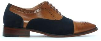 Daniel Cranmore Tan Leather & Suede Brogues