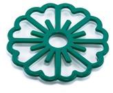 ODI HOUSEWARES Emerald Green Bloom Trivet