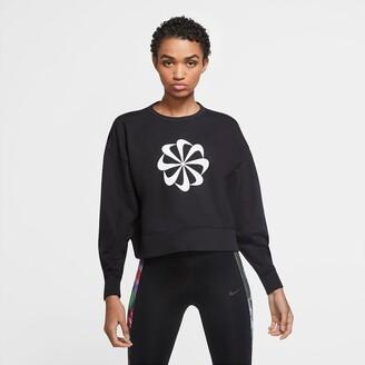 Nike Crew-Neck Sweatshirt in Cotton Mix