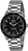 Rotary Watches Ocean Avenger Men's Dial Stainless Steel Bracelet Quartz Watch GB90095/04
