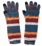 Muk Luks Women's Stripe 3-in-1 Glove - Multi