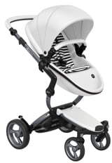Xari Graphite Chassis Stroller with Reversible Reclining Seat & Carrycot
