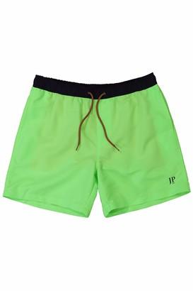 JP 1880 Men's Big & Tall Swim Shorts Neon Green Large 726924 42-L