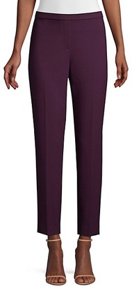 Elie Tahari Marcia Stretch Suiting Ankle Pants