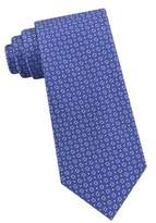 Lord & Taylor The Mens Shop Dot and Square Neat Silk Tie