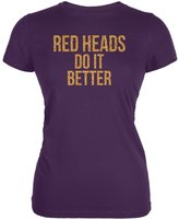 Old Glory Red Heads Do It Better Juniors Soft T-Shirt
