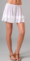 Maggie Fold & Frill Miniskirt