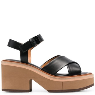 Clergerie Charline chunky-sole sandals
