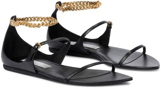 Stella McCartney Bella embellished faux leather sandals