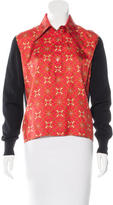 Hermes Silk-Accented Wool Sweater