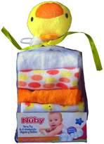 Nuby Duck Terry Toy & 6 Washcloths