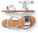 Gap Metallic tassel sandals