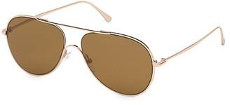 Tom Ford Anthony 62MM Aviator Sunglasses