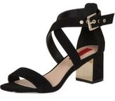 Dorothy Perkins Womens *London Rebel Block Heel Strap Sandals- Black