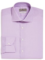 Canali Impeccabile Graphic Check Regular Fit Dress Shirt - 100% Exclusive