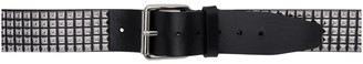 Vetements Black and Silver Stud Belt