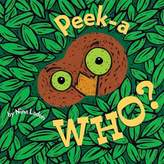 Bed Bath & Beyond Peek-A Who? Board Book by Nina Laden