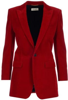 Saint Laurent Single-Breasted Jacket
