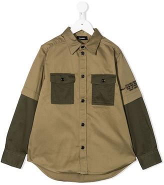 Diesel Colour Block Shirt