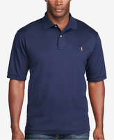 Polo Ralph Lauren Men's Big and Tall Pima Soft-Touch Interlock Polo