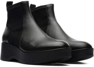 Camper Sisea Leather Ankle Bootie