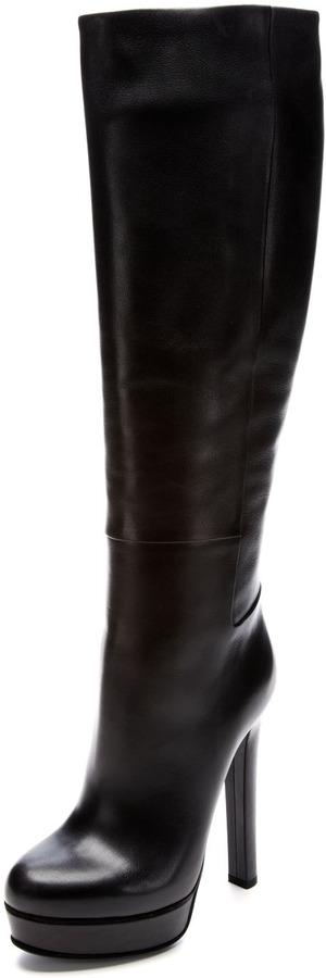 Gucci Alexa High Heel Platform Boot