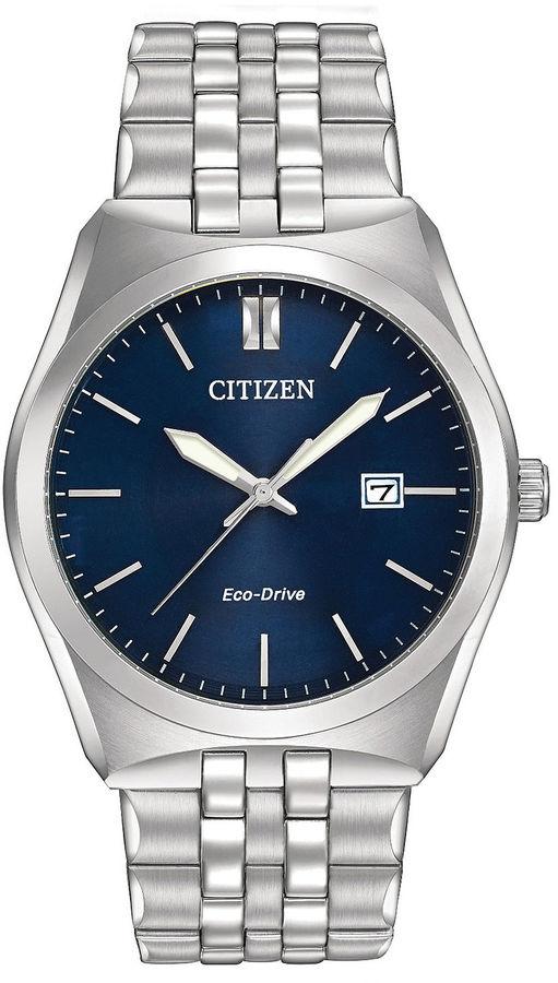 Citizen Eco-Drive Corso Mens Stainless Steel Watch BM7330-59L