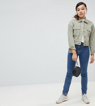Weekday Way High Waist Skinny Jeans