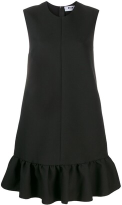 MSGM Peplum Hem Shift Dress