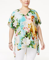Melissa McCarthy Trendy Plus Size High-Low Tunic