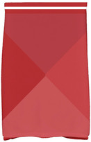 E By Design 16 x 25-inch, Nautical Angles, Geometric Print Hand Towel, Red