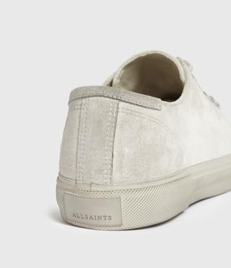 AllSaints Dumont Low Top Suede Sneakers