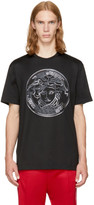 Versace Black Large Studded Medusa T-Shirt