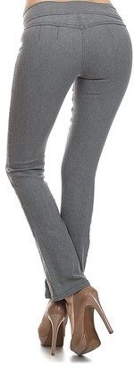 Sweet Lindsey Women's Denim Pants and Jeans Gray - Gray Emperial Premium Bootcut Jeans - Juniors