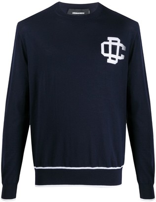 DSQUARED2 Contrast Trim Jumper