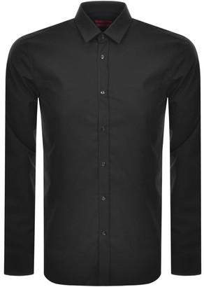 HUGO BOSS Elisha 02 Long Sleeved Shirt Black