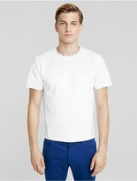 Calvin Klein Collection Performance Jersey Crew With Luxe Cotton Binding