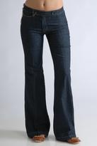 LIPS Jeans Colette Trouser Jeans in Dark Blue