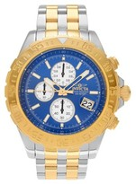 Invicta Men's 18851 Aviator Stainless Steel Chronograph Dial Bracelet Watch - Two Tone