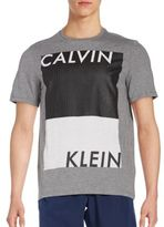 Calvin Klein Colorblock Graphic Tee