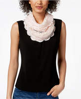 INC International Concepts I.n.c. Floral Lace Infinity Scarf, Created for Macy's
