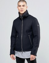Armani Jeans Jacket With Full Fleece Lining